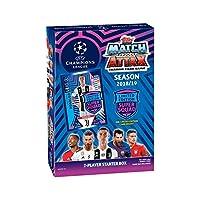 Topps Match Attax 2018/19 UEFA 冠军联盟足球交易卡牌游戏入门盒