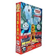 正版儿童卡通DVD 托马斯和朋友第2部 5DVD 儿童动画光碟