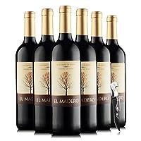 西班牙法定产区DO级 百年历史酒庄酿制 奥瑞安神树干红葡萄酒750ml*6 (整箱6支)(优红酒集团酒庄直采)