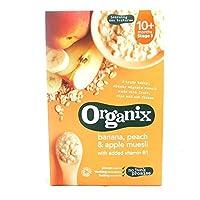 Organix 香蕉/桃子和蘋果慕斯 200克(4包)