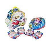 Super Wings 套装,配有背包,头盔和防护装置 (amijoc Toys 650)
