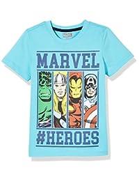 Disney 迪士尼童装 男童 针织短袖T恤 KFV8M2KTKB3212HB