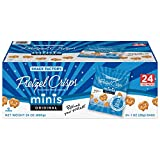 Snack Factory Pretzel Crisps, Original Minis, Single-Serve 1 Ounce, 24 Count