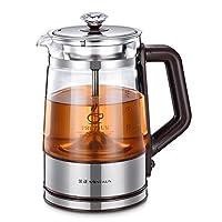 Nintaus 金正 喷淋式泡茶煮茶器黑茶花茶壶玻璃电热烧水壶养生壶JZW-0616(供应商直送)