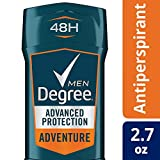 Degree Men Invisible AntiPerspirant & Deodorant, Adventure, 2.7盎司 4瓶装