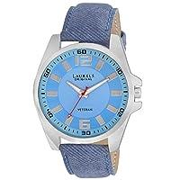 Laurels Original Blue Dial Analogue Watch for Men (Lo-Gt-203)