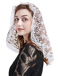 蕾丝教堂面纱头巾拉丁质量