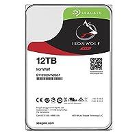 SEAGATE 希捷 12TB IronWolf NAS SATA 6Gb/s 256MB NCQ缓存 3.5英寸内置硬盘驱动器 (ST12000VN0007)