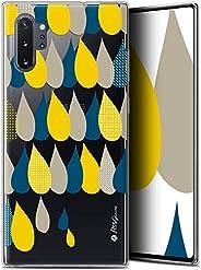三星 Galaxy Note 10+/Plus (6.8) 手机壳 [法国凝胶高清印刷,Petits Grains® 设计 - 柔软 - 超薄]CRYSPRNTPGNOTE10PLUS3GOUTTES  Samsung