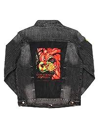 Dragonfly 男式 Guns N' Roses Metallica A Day On The Green Concert 1992 年 9 月牛仔夹克