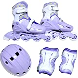 东方兴产 Juniorin4件套 尺寸可调节 紫色 KK-120 KK-120 L(20cm-23cm)