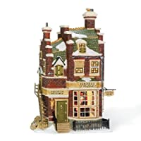 Department 56 Dickens' Village Scrooge 和 Marley Counting House Lit Building