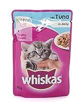 Whiskas Kitten Wet food Kitten Jelly with Tuna (12 Pack)