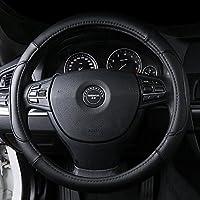 文丰方向盘套适用于迈腾途观朗逸速腾宝来帕萨特途锐汽车把套 A款黑色