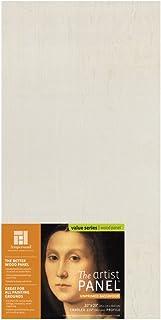"Ampersand Art Supply Unprimed 木艺术家板 - 手工轮廓 1.5 Inch Depth 10""x20"" UPWP151020"