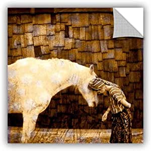 ArtWall Elana Ray's Horse Whisperer Art Appeelz Removable Wall Graphic Art, 18 by 18""