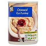 Morrisons Creamed Rice Pudding, 400 g, Pack of 24