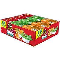 Pringles 3种口味薯片小吃, 359.127克 (4件装)