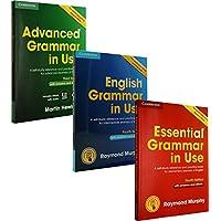 剑桥英语语法书 English Grammar in Use 初中高级 3册合售 剑桥英语语法书 初级 Essential Grammar in Use/剑桥英语语法书 中级 English Grammar in Use/剑桥英语语法书 高级 Advanced Grammar in Use