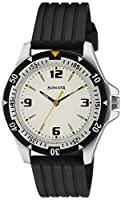 Sonata Super Fibre Analog White Dial Men's Watch - NF7930PP01J