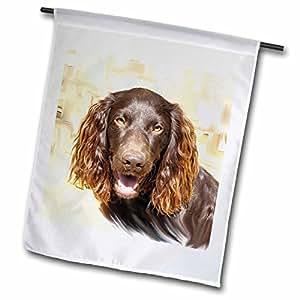 Dogs Boykin Spaniel - Boykin Spaniel - 旗帜 18 by 27-inch fl_4432_2