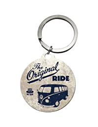 Nostalgic Art VW Camper Original Ride 圆形金属钥匙圈 (na)