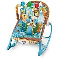 Fisher-Price费雪婴幼儿摇椅 丛林奇遇 (体重低于18kg婴幼儿适用)