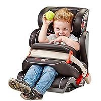 globalkids 环球娃娃 儿童安全座椅9个月-12岁前置护体isofix汽车用婴儿宝宝座椅 黑色(供应商直送)
