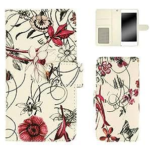 whitenuts 手机保护壳 笔记本式 装饰线 粉色 21_ REGZA PHONE T-02D