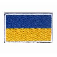 世界国旗补丁刺绣军事战术士气补丁 Ukraine GP-FLAGPATCH-W