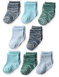 Hanes Ultimates 婴儿柔韧及踝袜,8 双装