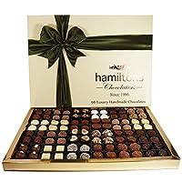 Hamiltons 终极高端奢侈 96个手工巧克力礼盒套装