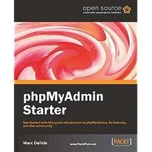phpMyAdmin Starter (English Edition)
