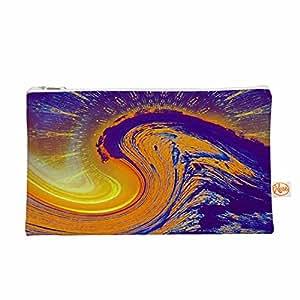 "KESS InHouse Infinite Spray Art""Devreux"" 紫色航海服饰包,21.59 cm x 15.24 cm (TC1034AEP01)"