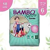 Abena Bambo Nature 婴儿训练裤经典,尺码 6 (40 + 磅),90 支装