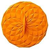GIR: Get It Right Premium Silicone Round Lid, 8 Inches, Orange