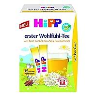 HiPP 喜宝 Erster Wohlfühl-Tee 婴幼儿无糖茶饮,6盒(6 x 5.4克)