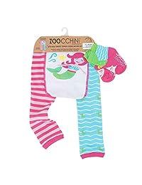 Zoocchini【日本正品】打底裤&袜子 人鱼的马雷塔 粉色 6-12ヶ月