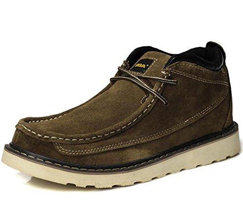Unbeaten 型男个性潮靴 休闲鞋 马丁靴 骑士靴 工装靴 男靴 军靴 时装靴 高帮鞋 真皮靴 户外运动靴 棉靴 男鞋