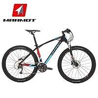 MARMOT土拨鼠变速自行车山地车男女式单车铝合金山地自行车27速