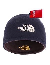 The North Face 针织骷髅帽中性双面无檐小便帽男女皆宜