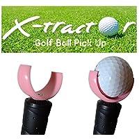 X-Tractor - 高尔夫球拾取工具 - 粉色