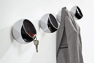 Philippi Design 衣帽頂球 SPHERE - 123150 - 設計師衣柜帶鑰匙、錢包或零錢 - 由高光澤拋光鋁制成