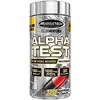 Muscletech Pro系列Alpha測試男士睪酮促進劑,120??焖籴尫拍z囊