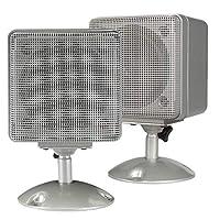 Magnadyne LS4W-PAIR 7.62cm 天花板式卫星扬声器,适用于房车或移动房屋 1 对(白色或银色)