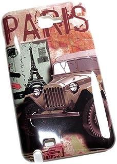 So'axess BCASGN7000-43 后盖适用于 Samsung Galaxy Note N7000 - Jeep/Paris Motif