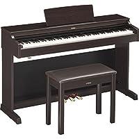 YAMAHA 雅马哈 ARIUS系列YDP-163R电钢琴88键数码钢琴(含配套琴架 三踏板及琴凳) 深玫瑰木色