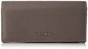 Coccinelle 女式 金属十字纹拉链包 E2 AW1 11 33 01-175 灰褐色 均码(亚马逊进口直采,意大利品牌)