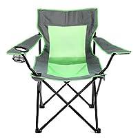 KANSOON 凯速 折叠椅钓鱼椅 夏季透气牛津网布 带扶手可折叠易携带式户外椅 HG2366型 果绿色