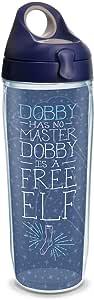 Tervis 1314619 哈利波特无提花精灵保温玻璃杯,带包装盖,24 盎司,透明